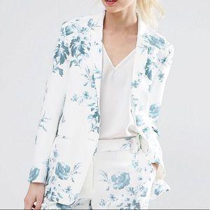 NWT ASOS Petites Floral Blazer Sz 00